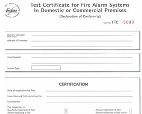 Powerplus Electrical Fire Cert